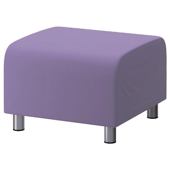 lila baumwolle bezug f r ikea klippan fu bank sofa berwurf schemel ebay. Black Bedroom Furniture Sets. Home Design Ideas