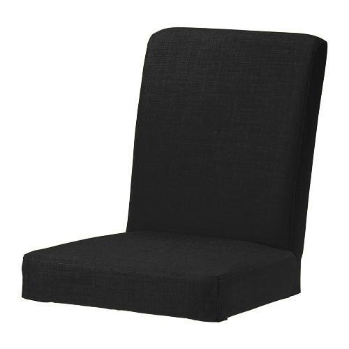 Black Skiftebo Custom Replacement Slip Cover for Ikea  : henriksdal chair cover5fblack from www.ebay.co.uk size 500 x 500 jpeg 51kB