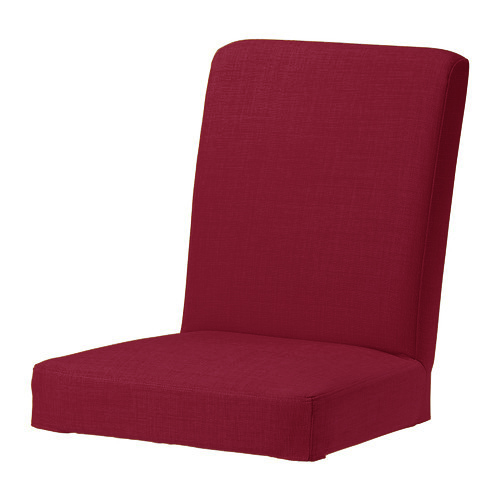 red skiftebo custom replacement slip cover for ikea henriksdal dining chairs ebay. Black Bedroom Furniture Sets. Home Design Ideas