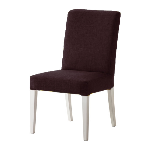 Remplacement rev tement pour ikea henriksdal chaise salle manger en lin eff - Ikea chaise pour salle a manger ...