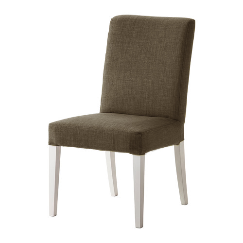 Replacement slip cover for ikea henriksdal dining chairs for Replacement dining room chair seats