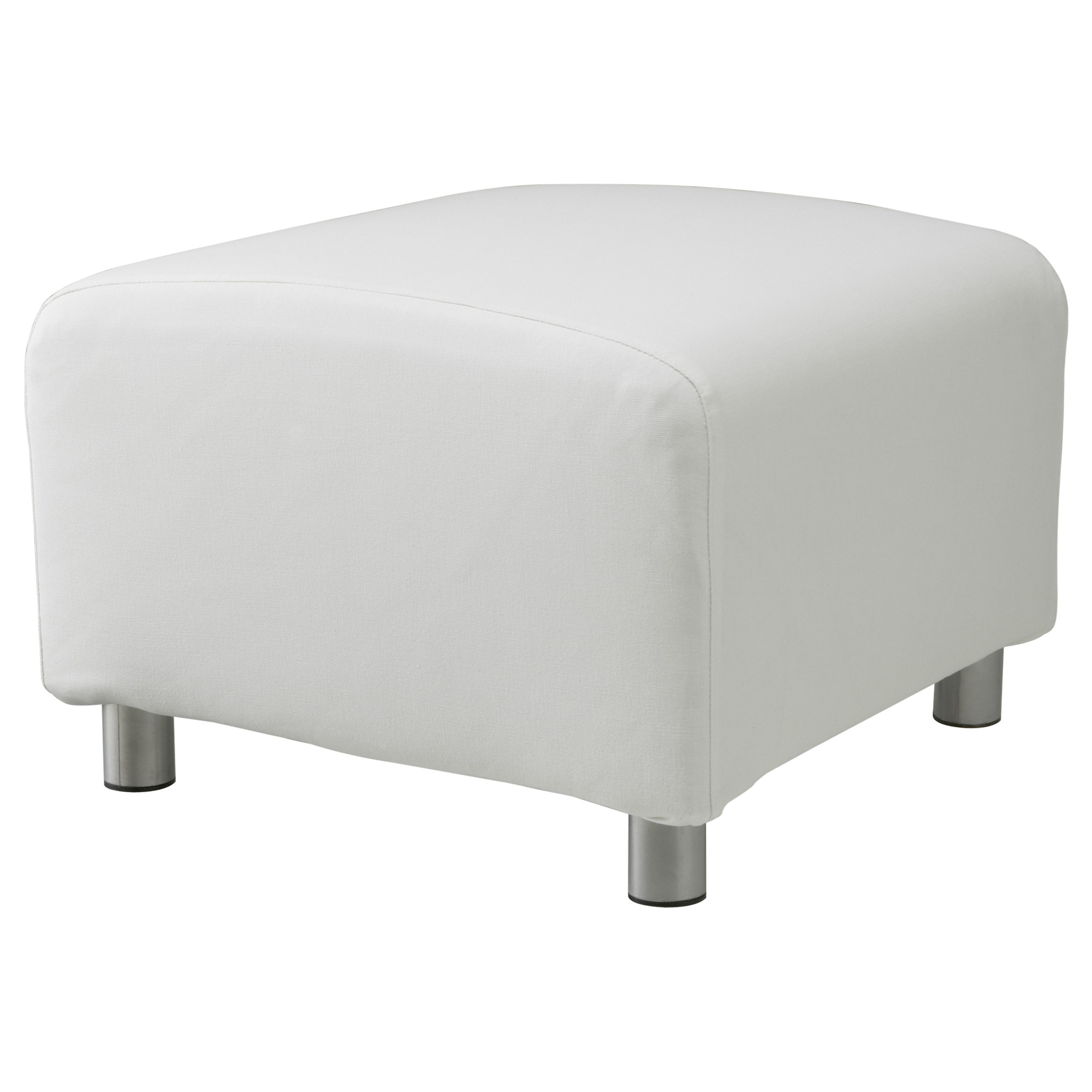 Custom slip cover for ikea klippan footstool 100 cotton sofa cover foot stool - Klippan sofa ikea ...