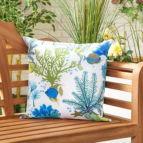 Waterproof Canvas Outdoor Cushions Water Resistant Scatter Garden
