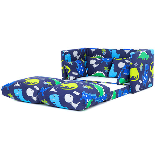 Children S Prints Bedroom Sofa Bed Fold Out Boys Girls