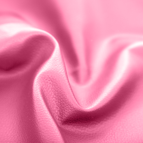 Pink Faux Leather Leatherette Upholstery Material Fr