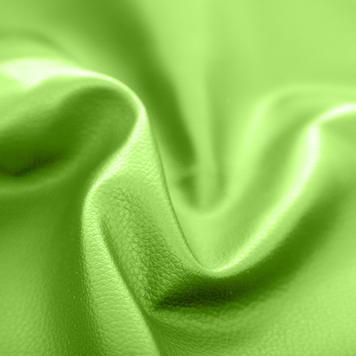 Lime Green Faux Leather Leatherette Upholstery Material Fr