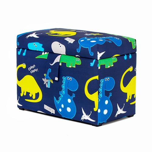 Owls Toy Chest Soft Closing Foam Padded Storage Children S: Dinosaurs Toy Chest Soft Closing Padded Storage Children's
