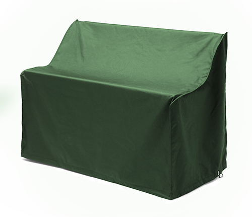 green waterproof 2 seater bench cover garden furniture