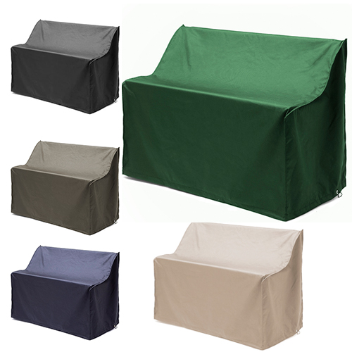 Stone waterproof 2 seater bench cover garden furniture for Waterproof covers for outdoor furniture uk