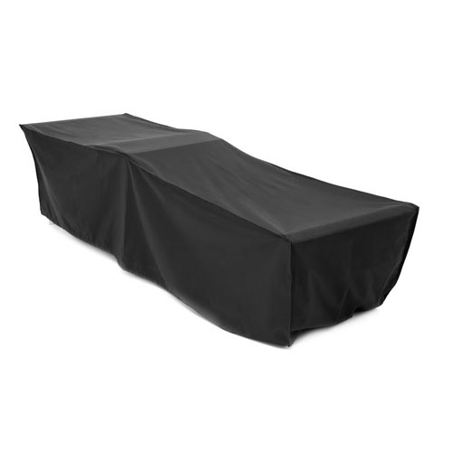 Black waterproof sun lounger cover garden furniture heavy for Waterproof covers for outdoor furniture uk