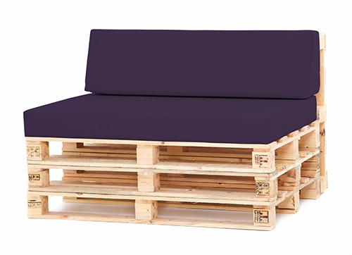 Pallet Seating Garden Furniture DIY Trendy Foam Cushions With Waterproof Cove