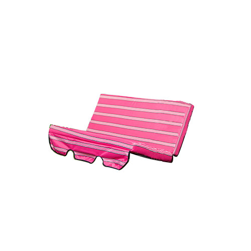 pink stripes replacement cushion swing seat hammock garden. Black Bedroom Furniture Sets. Home Design Ideas