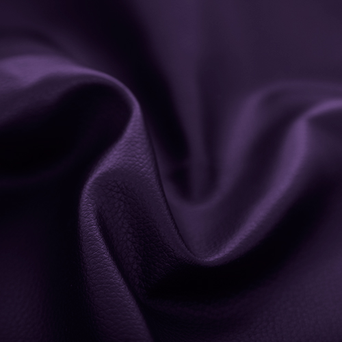Purple Faux Leather Leatherette Upholstery Material Fr