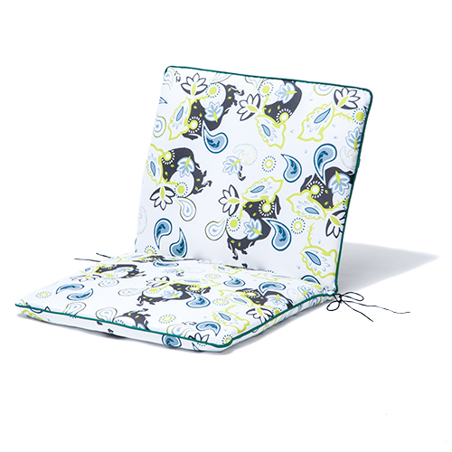 gardenista gold edition garden back seat cushion chair