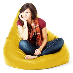 pouf gamer chaise adulte de jeux pouf poire faux cuir xxl. Black Bedroom Furniture Sets. Home Design Ideas