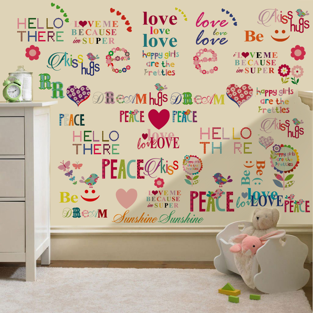 childrens kids themed wall decor room stickers sets childrens wall stickers amp wall decals home design