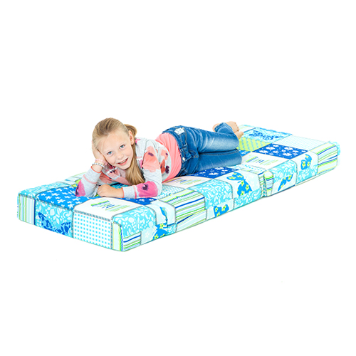 Children s Z Bed Fold Out Chair Butterfly Girls Mattress Sleepover Kids B
