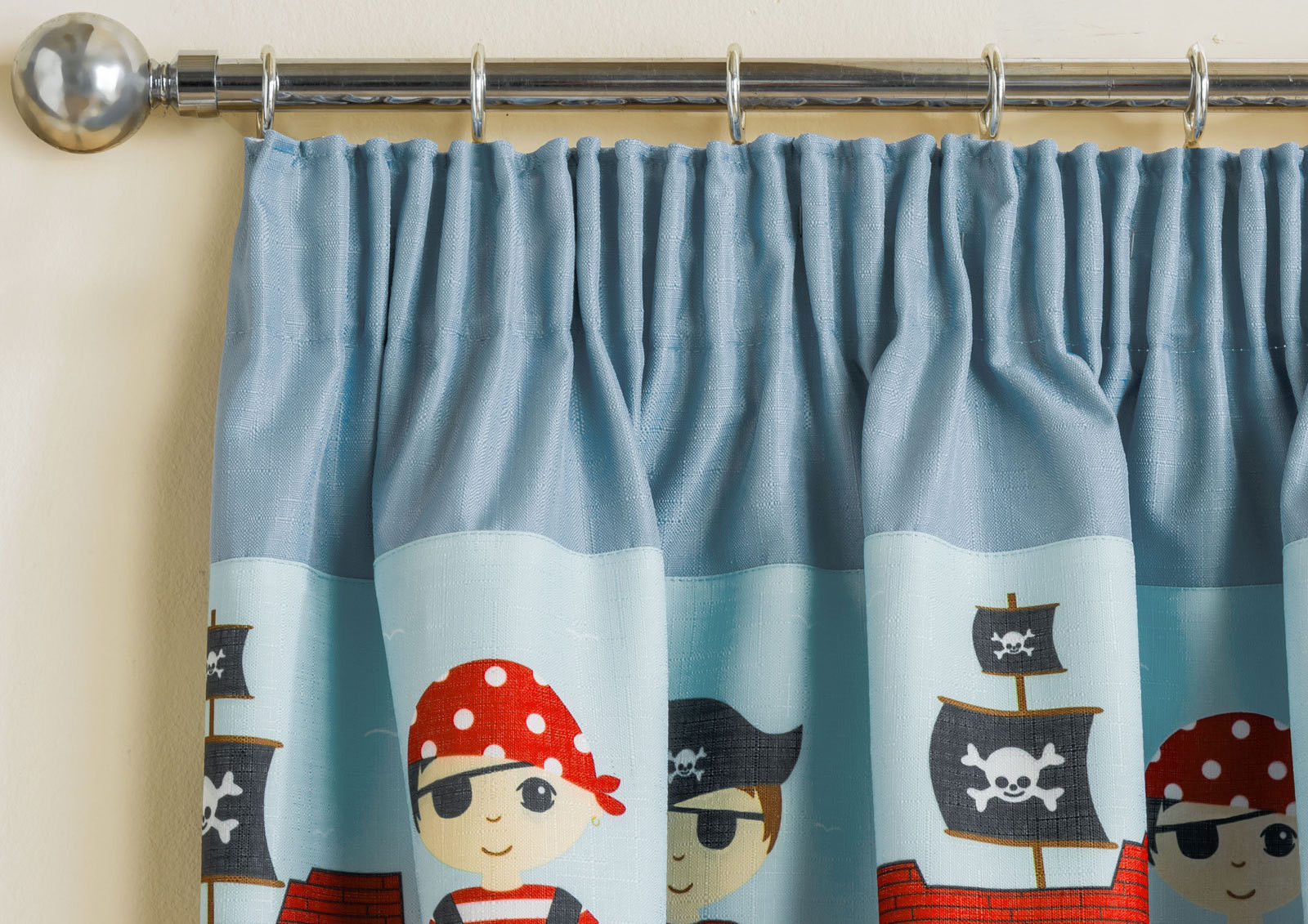 Per bambini pirati tende luce riducono termiche cameretta - Tende per cameretta bambina ...