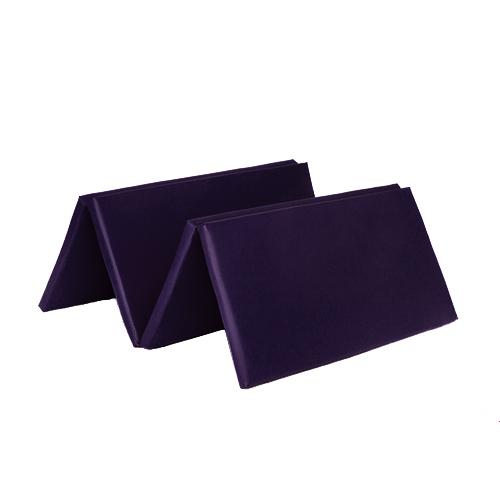 Purple Folding Large 8ft Play Gym Mat Floor Exercise Yoga
