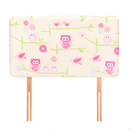 Childrens Kids Girls Boys Printed Pattern Design Single Bed Divan Headboard Ebay