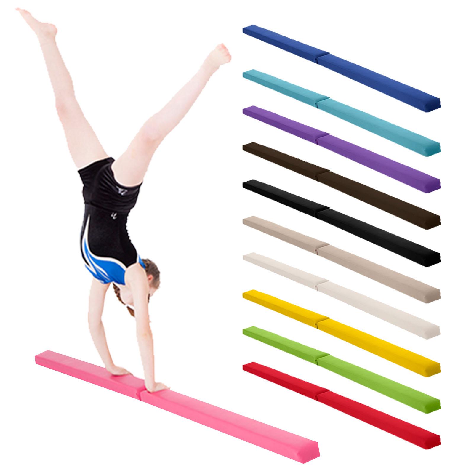 Gymnastics Folding Balance Beam 2 1m Hard Wearing Faux