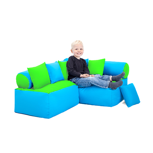 Children 39 s reading corner nursery seating soft play sofa for Toddler reading chair