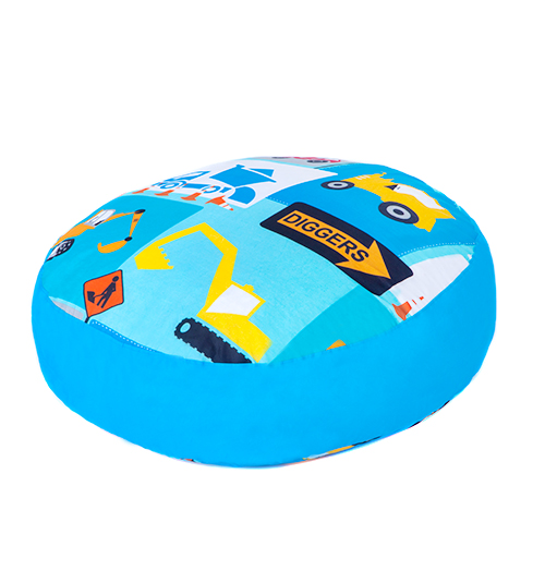 Children s Giant Floor Cushions Soft Foam Filled Large Play Seat Bedroom Kids eBay