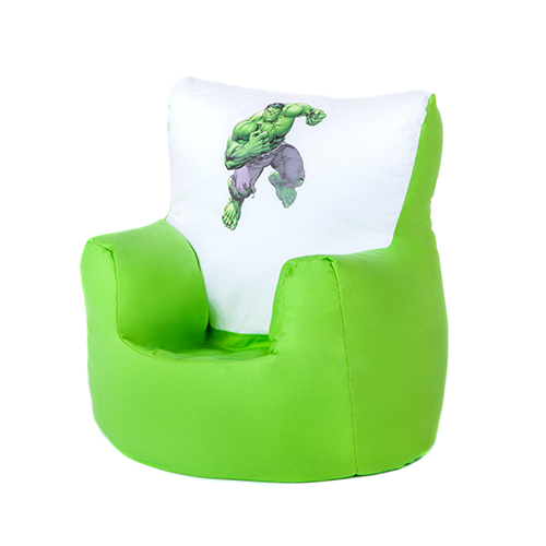 Hulk marvel avengers children 39 s kids bean bag chair seat for Kids tv chair