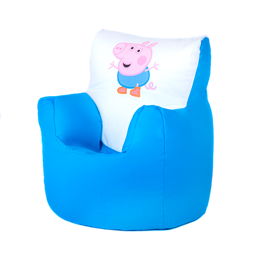 George peppa pig children 39 s kids bean bag chair seat boys for Kids tv chair