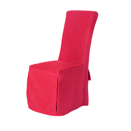 Set of 6 Red Linen Fabric Dining Chair Covers for Scroll  : CS20SD120Linoso20Red2 from www.ebay.it size 500 x 500 jpeg 93kB