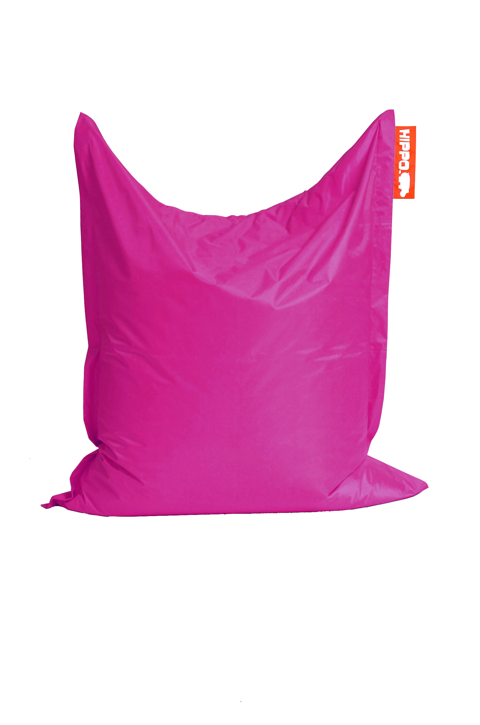pink hippo xxl adult bean bag water resistant beanbag. Black Bedroom Furniture Sets. Home Design Ideas