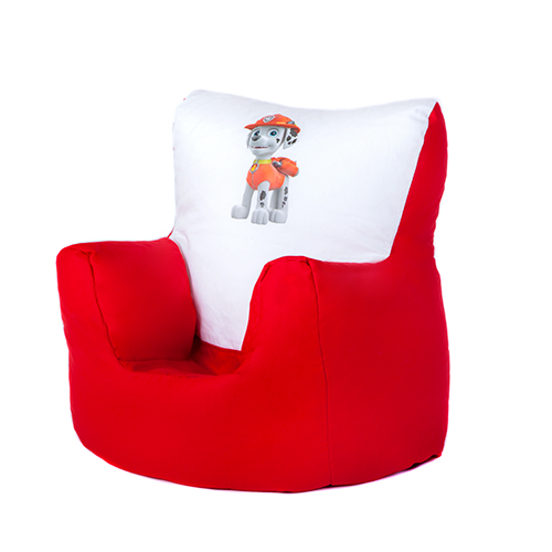 children 39 s kids character printed bean bag chairs toddler baby seat arm chair ebay. Black Bedroom Furniture Sets. Home Design Ideas