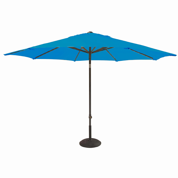 Patio Umbrella Material Replacement: Turquoise 2.5M 6 Arm Replacement Waterproof Fabric Garden