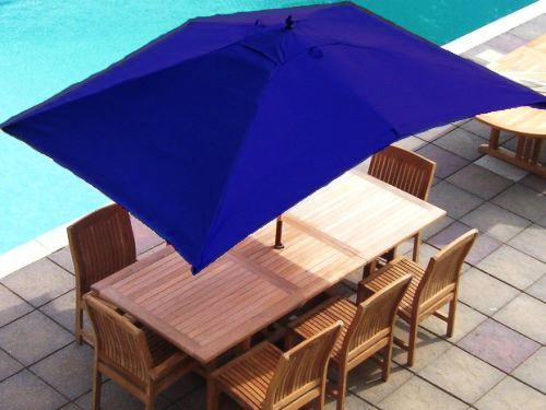 blue 2 x 3 metre rectangular 6 arm replacement garden. Black Bedroom Furniture Sets. Home Design Ideas