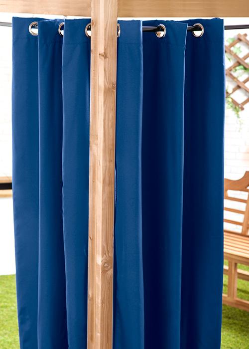 Waterproof Outdoor Curtain Eyelet Panel 55 Garden Dcor Drapes