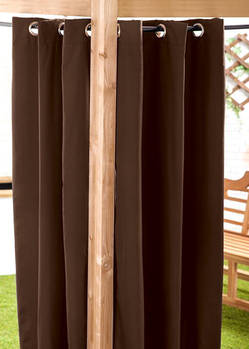 waterproof outdoor curtain eyelet panel 55quot garden decor With outdoor curtains waterproof