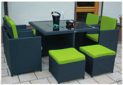 Replacement pc Cushion Set to fit  Seater Rattan Garden