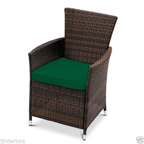 dining chair cushions to fit rattan garden furniture patio wicker