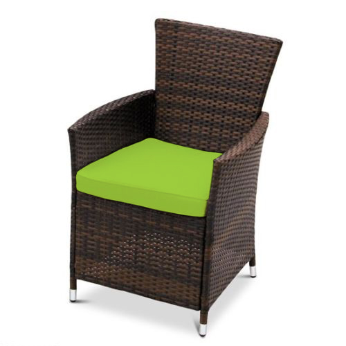 Replacement dining chair cushions to fit rattan garden - Replacement cushions for wicker patio furniture ...