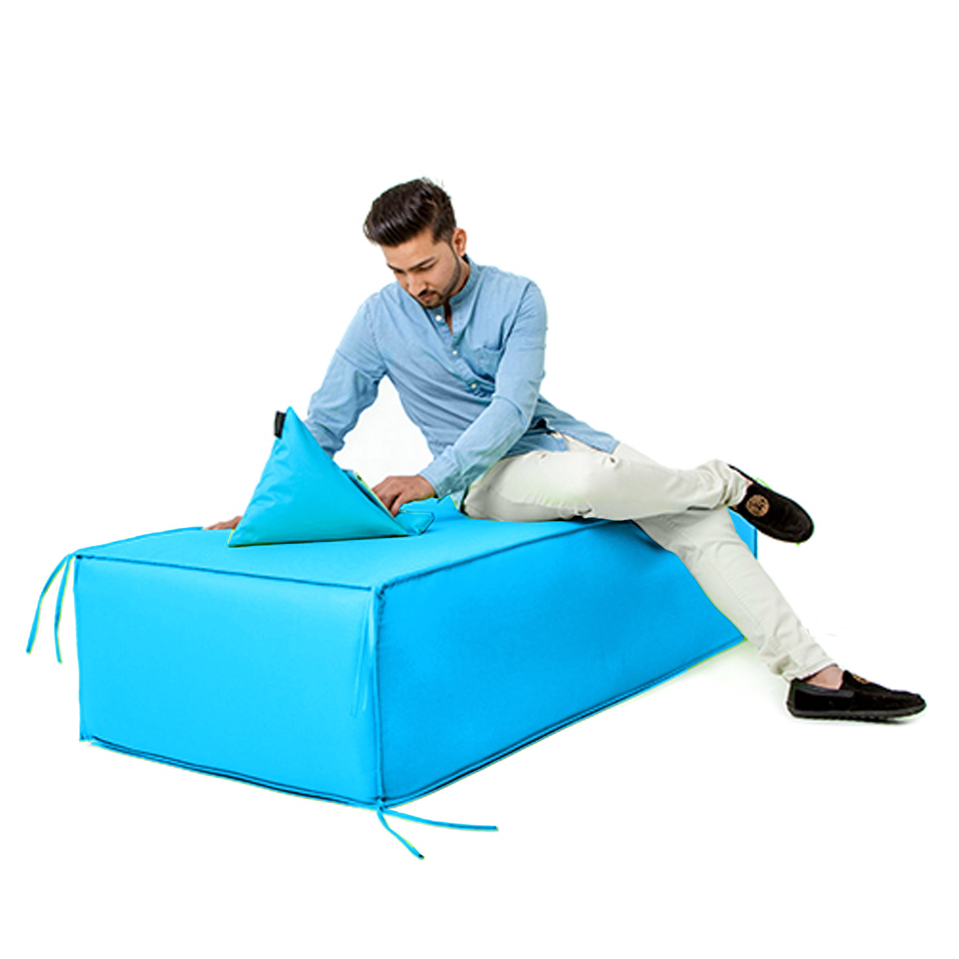 Waterproof Garden Foam Sofa Seating Blocks Outdoor Furniture