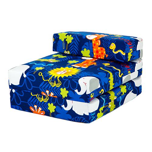 kinder charaktere schaum ausklappbar schlaf ber gast einzeln futon sessel sofa ebay. Black Bedroom Furniture Sets. Home Design Ideas