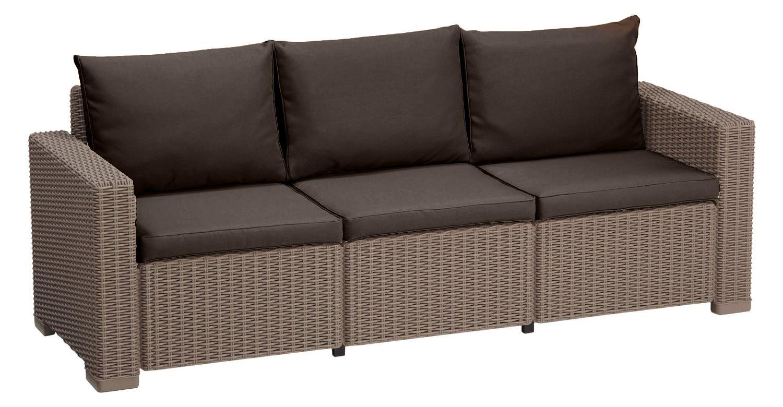 Rattan gartenmöbel sofa  Polsterkissen für Keter Allibert Kalifornien Rattan Gartenmöbel ...