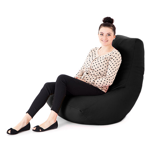 Faux Leather Adult Bean Bag Gaming Chair Gamer