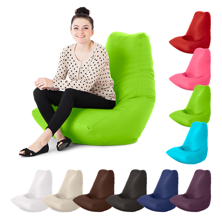 faux leather adult bean bag gaming chair gamer beanbag. Black Bedroom Furniture Sets. Home Design Ideas