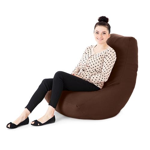 Faux Leather Adult Bean Bag Gaming Chair Gamer Beanbag Highback Seat Large Xxl Ebay
