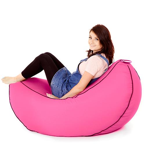 banana bean bag big gaming seat beanbag large lounger. Black Bedroom Furniture Sets. Home Design Ideas