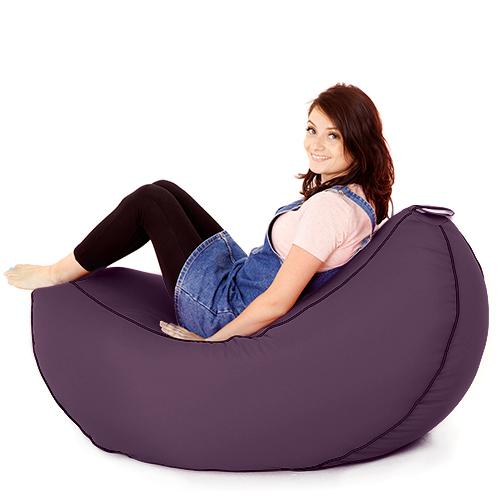 Purple Banana Bean Bag Adult Big Gaming Seat Beanbag Large