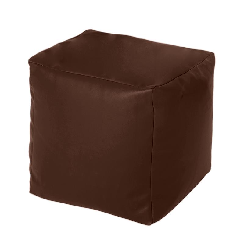 Faux Leather Cube Bean Bag Pouffe Foot Stool Beanbag