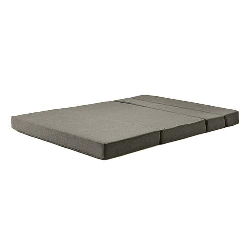 graphite amelia wool fabric foam guest z bed folding futon