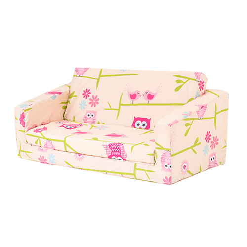 Owls Kids Flip Out 39 Lily 39 Sofa Bed Sleep Over Fold Out Children 39 S Furniture Ebay